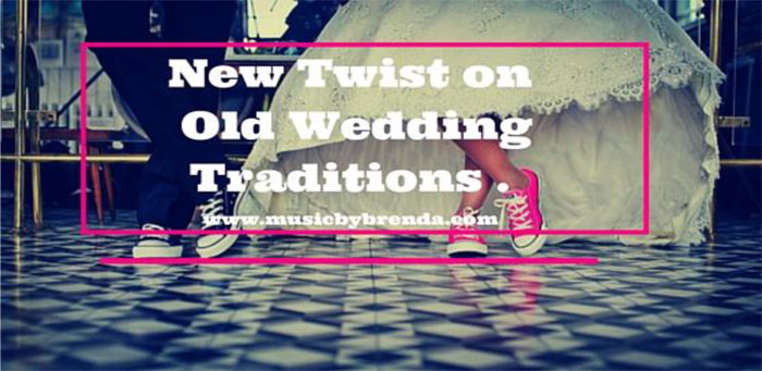 New Twist On Old Wedding Traditions