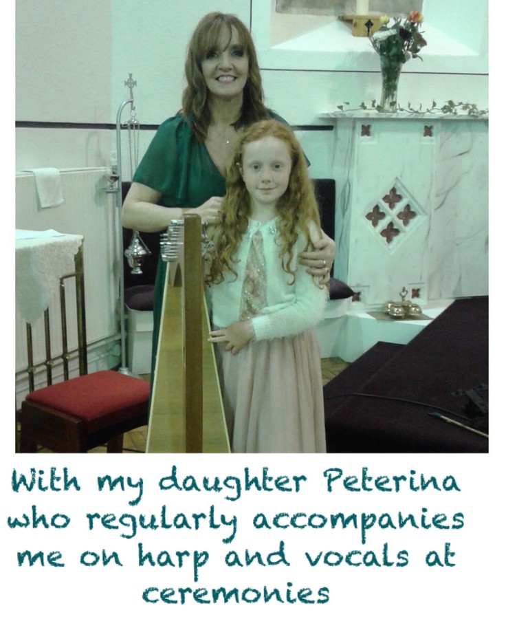 Brenda with daughter Peterina